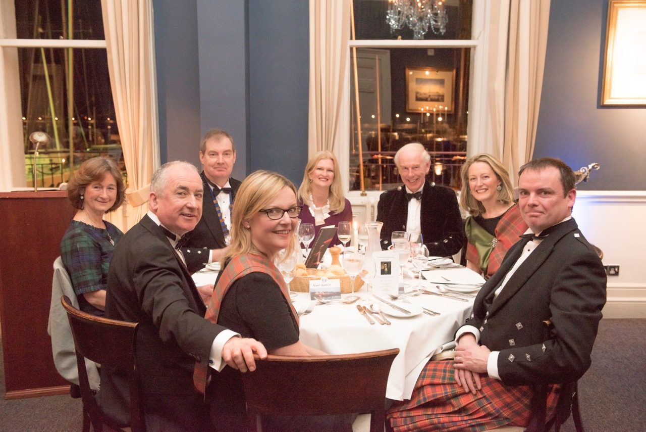 The most recent celebration of Burns Night for the Dublin Scottish Benevolent Society of St. Andrew in 2016